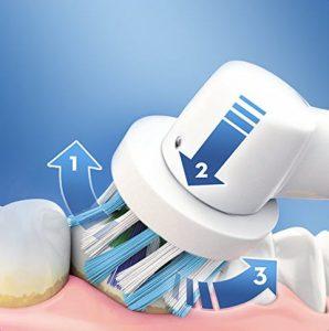 Cabezal de cepillo eléctrico de dientes